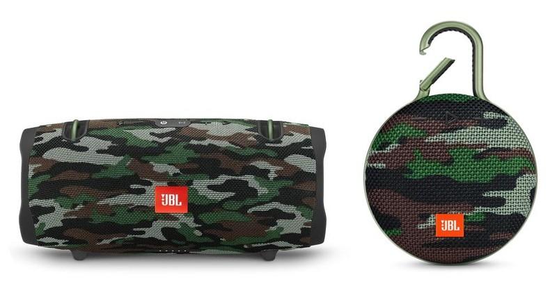 JBL 為 XTREME2 及 CLIP 3 兩款藍牙喇叭系列增添全新迷彩造型