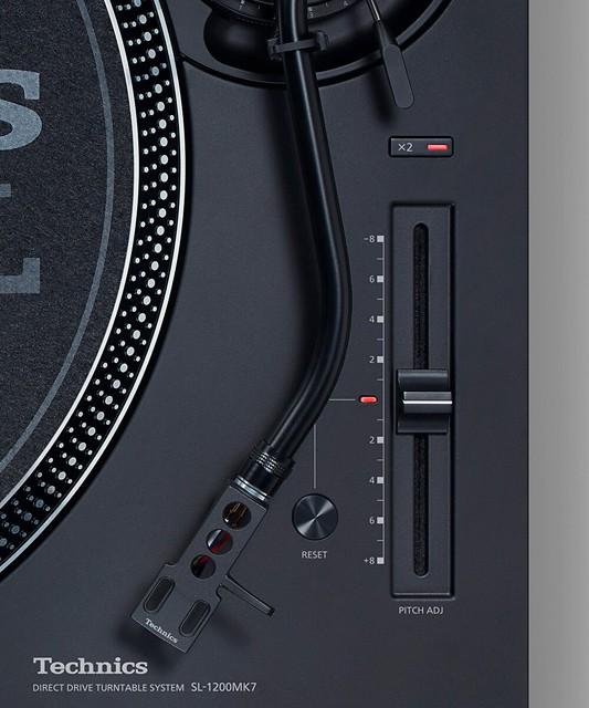 Technics 推出全新專業 DJ 黑膠唱盤 SL-1200MK7