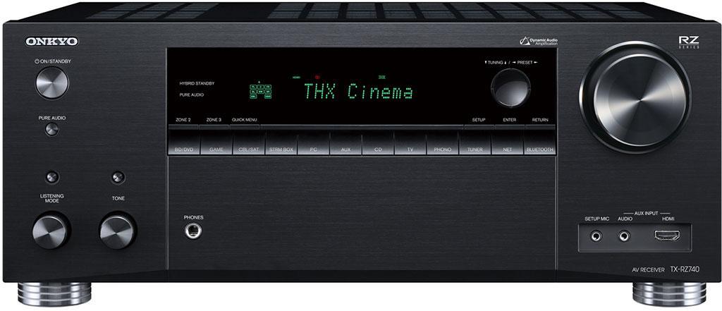 Onkyo 高級 RZ 影音擴音機系列 TX-RZ840 / TX-RZ740