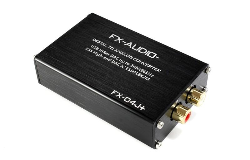FX-AUDIO 推出全新小型 USB 數碼 / 模擬轉換器 FX-04J+