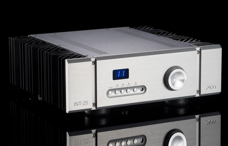 Pass Labs 推出全新純 A 類合併式放大器  INT-25