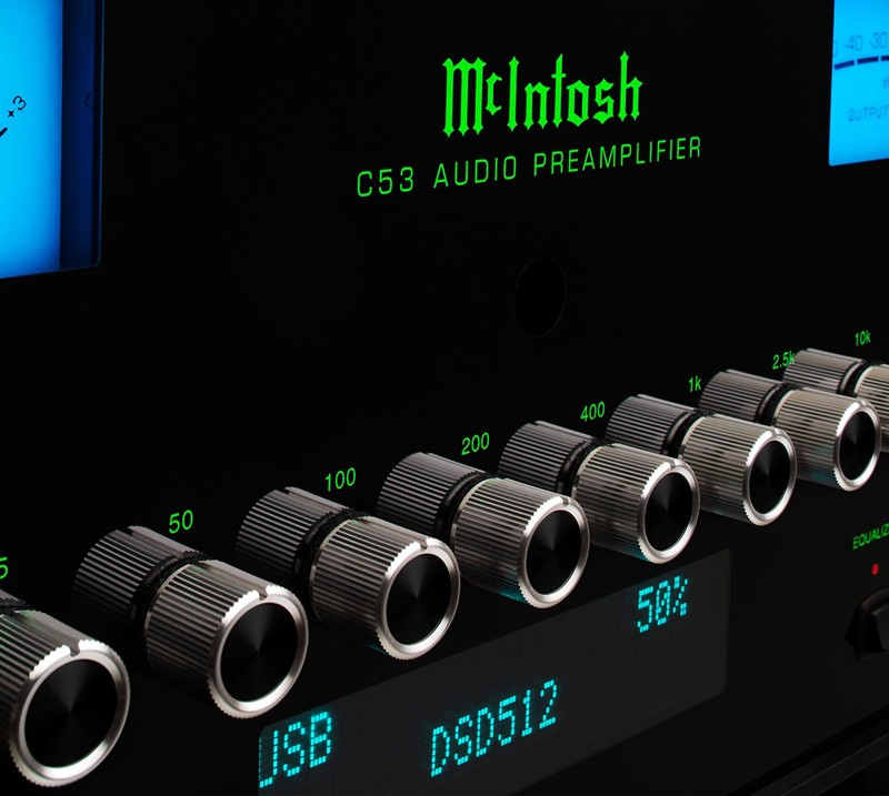全新數碼模組植入,McIntosh 推出全新 C53 前級放大器