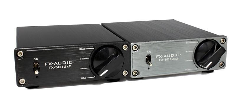 FX-AUDIO 推出全新小型後級放大器 FX-501Jx2