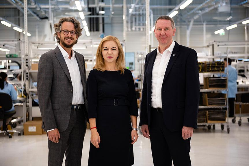 SENNHEISER 於羅馬尼亞布拉索夫慶祝新製造廠正式開幕