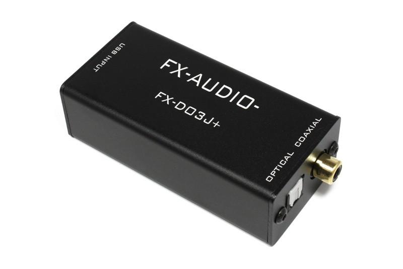 品質再進化,FX-AUDIO 推出全新版本 D to D 數碼轉換器 FX-D03J+