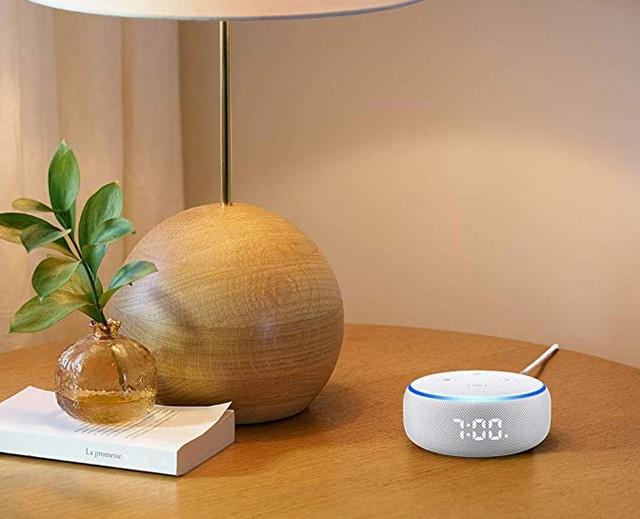 時間、溫度顯示無難度,Amazon 推出全新 Echo Dot with clock 智慧型喇叭