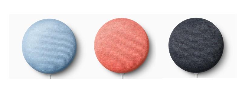 性能提升,Google 推出新一代智能喇叭 Nest Mini