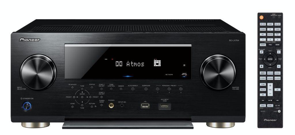 「快、狠、準」家庭影院音效新指標 Pioneer SC-LX704
