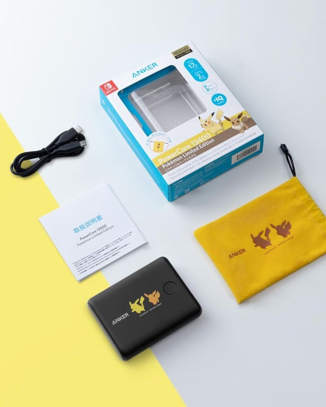 Anker 推出兩款全新 PowerCore 13400 Pokémon Limited Edition 行動電源