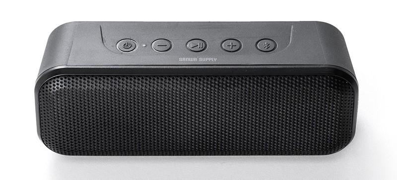 防水設計+立體聲模式,SANWA SUPPLY 推出 400-SP086 無線藍牙喇叭