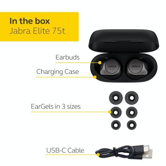 Jabra 推出第四代真無線耳機 Jabra Elite 75t