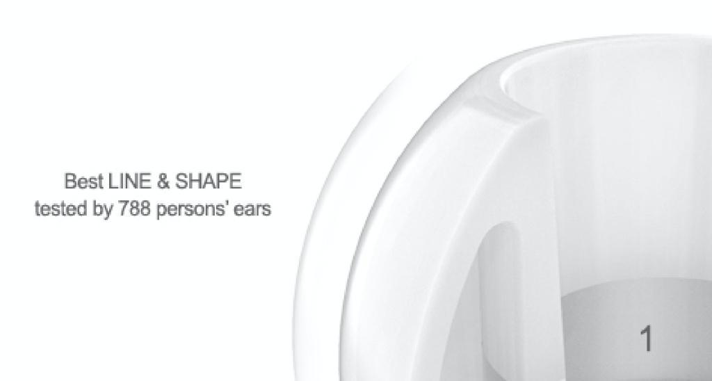 AZLA 以科技塑造耳膠【SednaEarfit™】