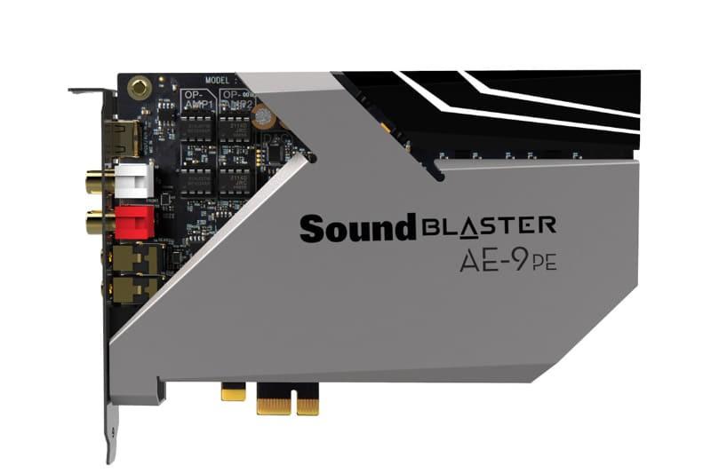 Creative 推出旗艦級音效卡 Sound Blaster AE-9PE