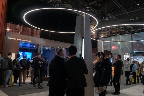 Sony 於 2020 CES Show 展出全新 360 Reality Audio 技術, Soundbar 以及 Speaker 均能使用