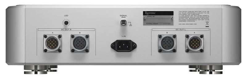 Esoteric 為 SACD / CD 旗艦唱盤 K1X 推出外置式供電系統 Grandioso PS1