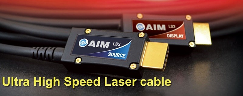 48Gbps / 8K 時代來臨,Aim Electronics 推出全新 HDMI 線材 Laser Cable III