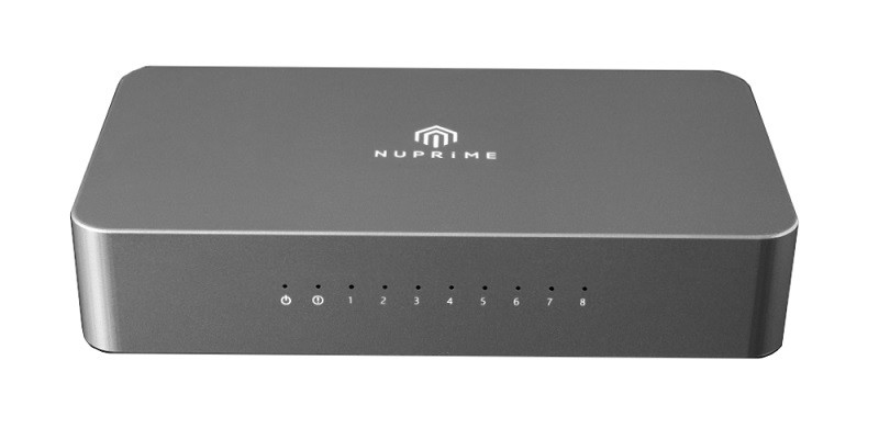 NuPrime 推出音響專用的 SW-8 Network Switch