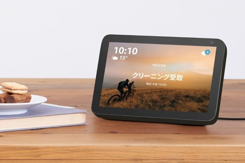 8 寸顯示屏加持,Amazon 推出全新 Echo Show 8