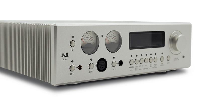 數碼 / 模擬輸入齊備,T+A 推出全新 HA 200 耳機放大器