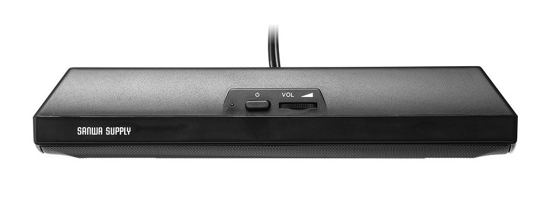 USB 供電,Sanwa 推出手提電腦專用喇叭