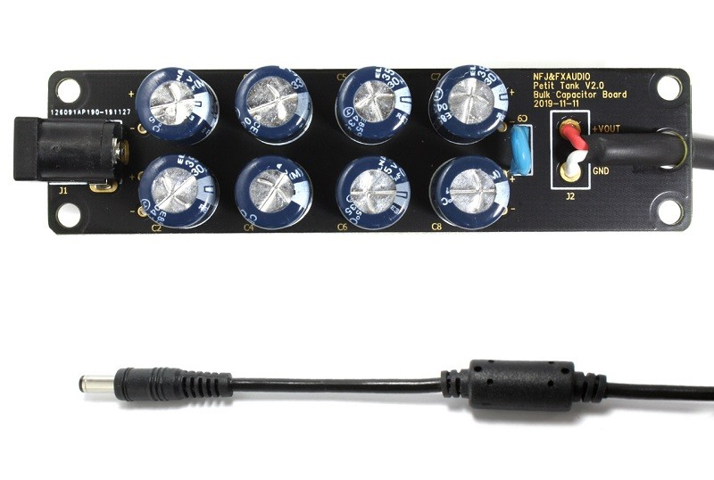 FX-AUDIO 推出全新電源訊噪潔淨 / 大容量電容 Petit Tank
