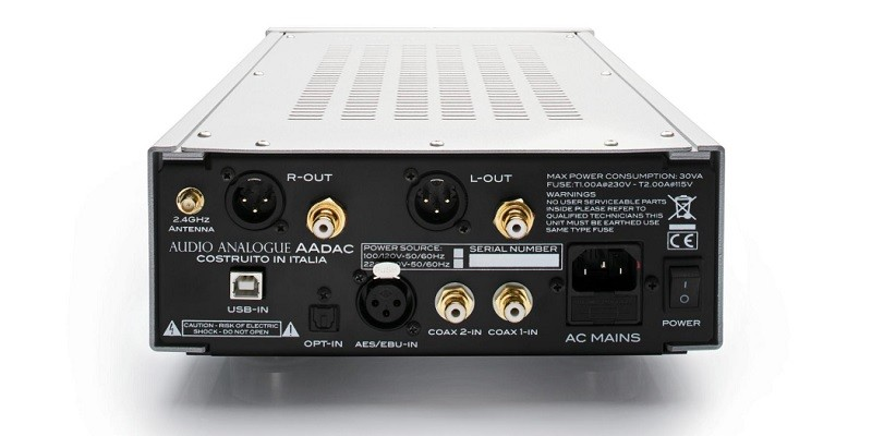 AUDIO ANALOGUE 推出多功能小型解 AAdac