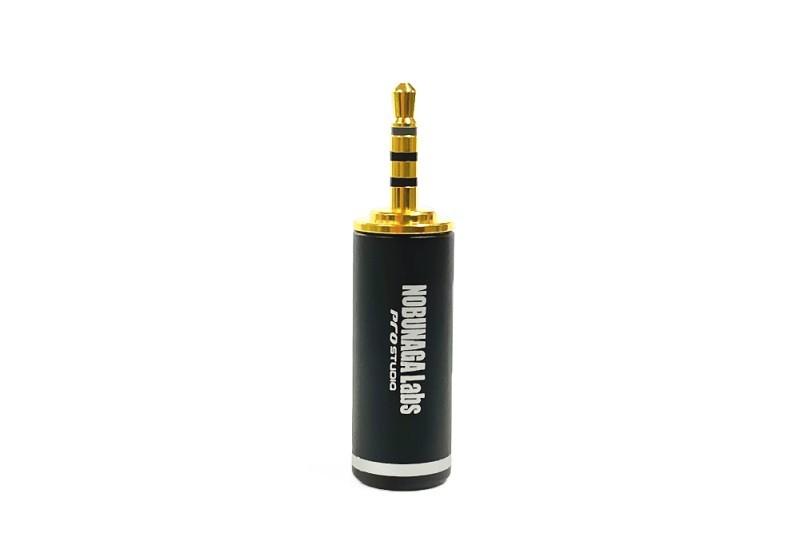 NOBUNAGA Labs 推出 DIY 用四極 2.5mm 鍍金插頭 NLP-PRO-TP2.5/4