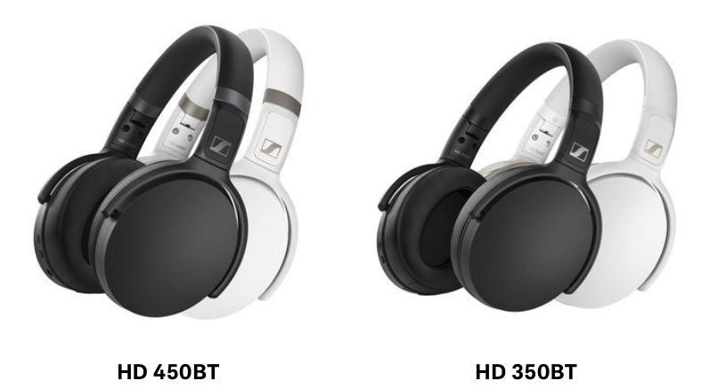 Sennheiser 推出 HD 450BT 及 HD 350BT 耳機