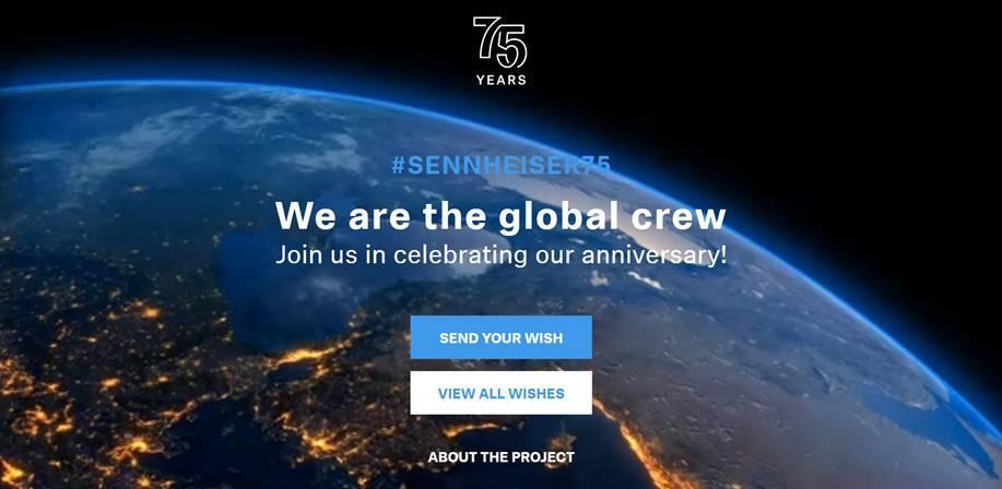 Sennheiser 慶祝成立 75 周年