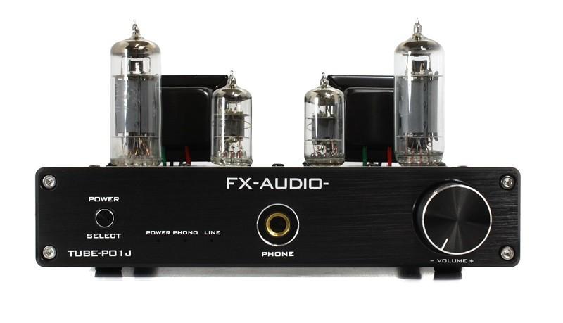 FX-AUDIO 推出純 A 類單端真空管合併式放大器 TUBE-P01J