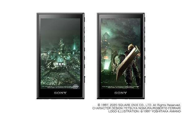 Sony 宣布推出 Final Fantasy VII Remake 限定版本 NW-A100 系列 Walkman