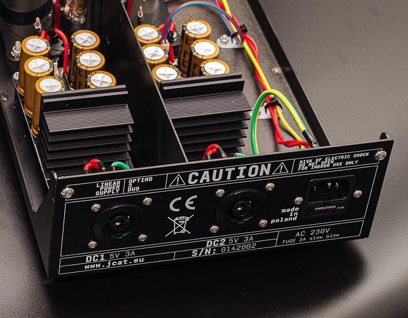 毫不妥協,JCAT 推出發燒級線性電源 OPTIMO 3 DUO