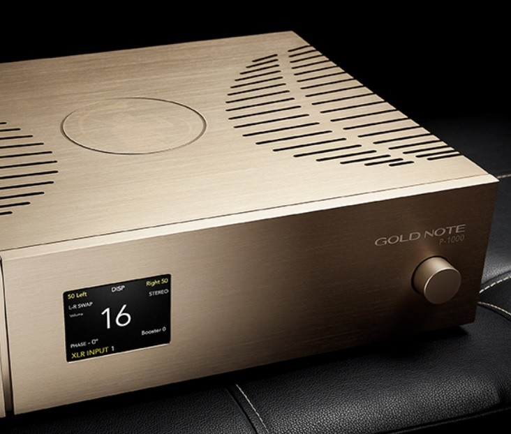 GoldNote 推出全新一代前級放大器 P-1000 MKII
