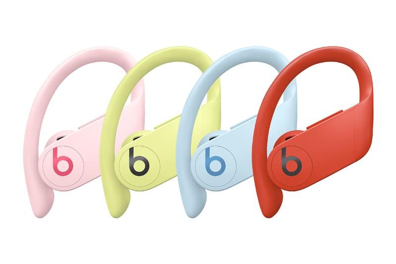 新色登場,Powerbeats Pro 推出「紅黃粉藍」全新四款顏色