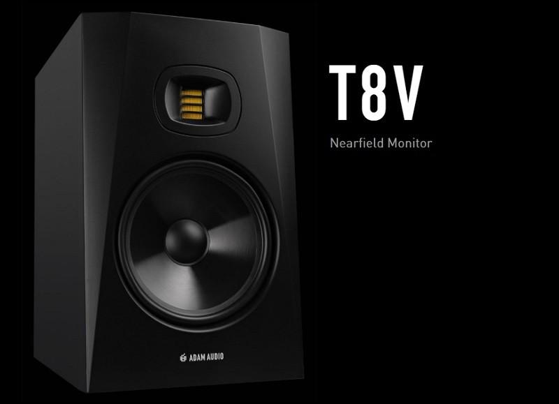 T 系列最新作,ADAM Audio 推出 T8V 專業近場監聽喇叭