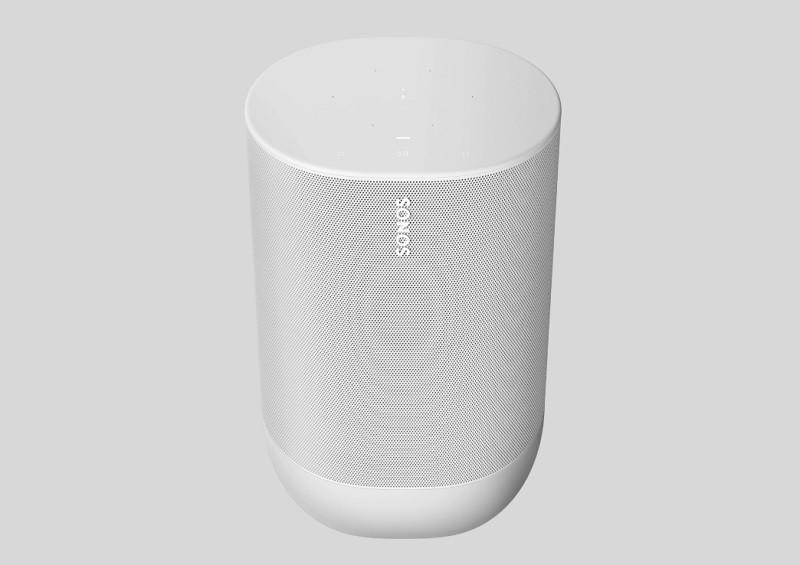 Sonos Move 智能喇叭將新增白色 Lunar White 版本