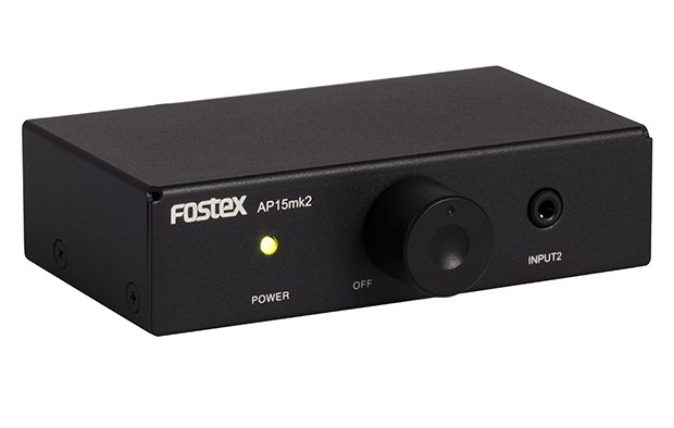 新增自動待機功能,Fostex 推出全新小型放大器 AP15mk2