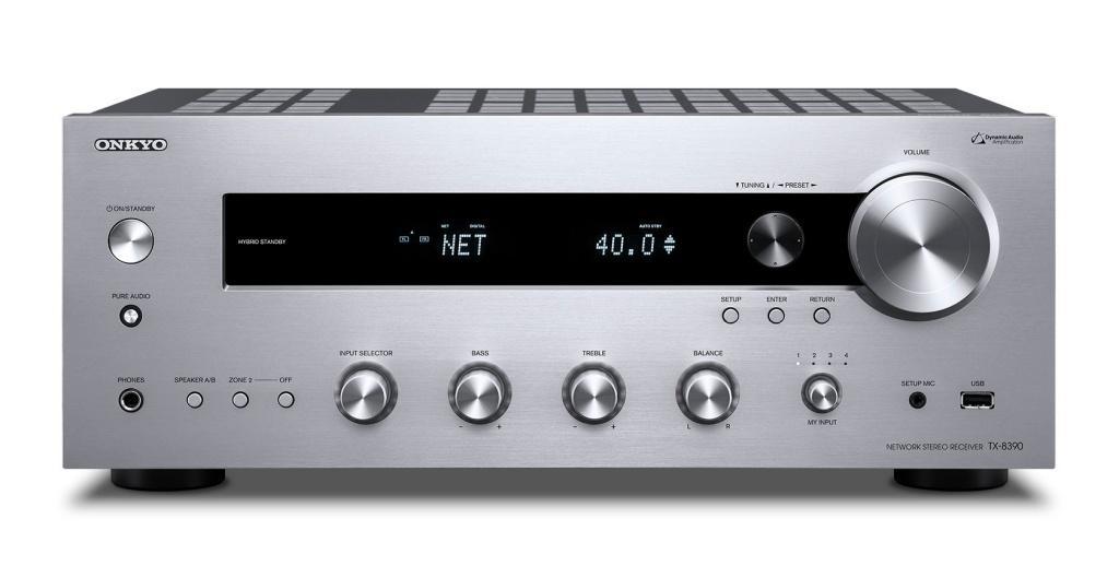 Onkyo 第四代網絡立體聲擴音機系列旗艦作 TX-8390