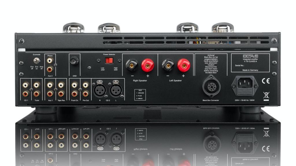 創造高效率 A 類音質 - OCTAVE V70 Class A 合併式膽擴音機