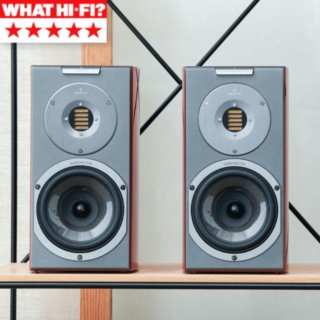 英國 WHAT HI FI? 音響雜誌 五星評價 Audiovector R 1 Arreté 書架揚聲器