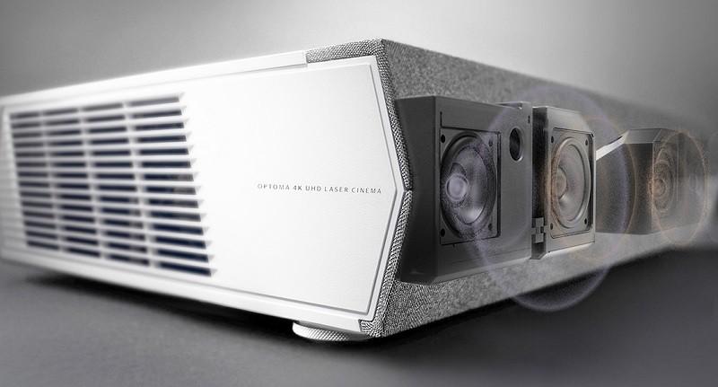 Optoma 推出全新智慧 4K 雷射超短焦家庭影院投影機 P2