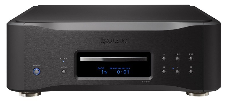 全球限量五十台,Esoteric 推出 K-01XD 及 K-03XD Black Edition SACD / CD 唱盤