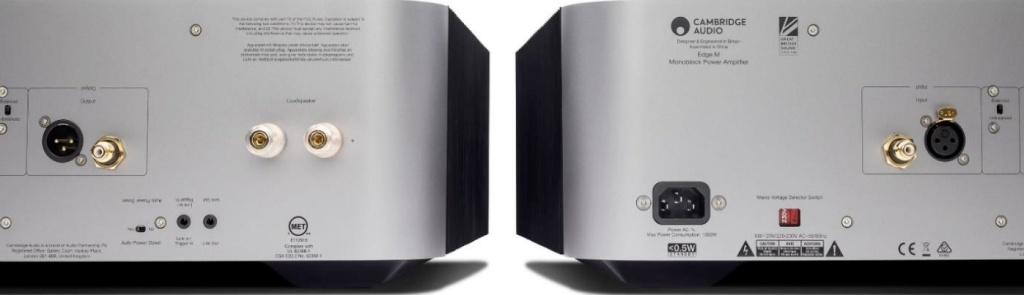 Cambridge Audio Edge M Monoblock Power Amplifier 單聲道後級放大器