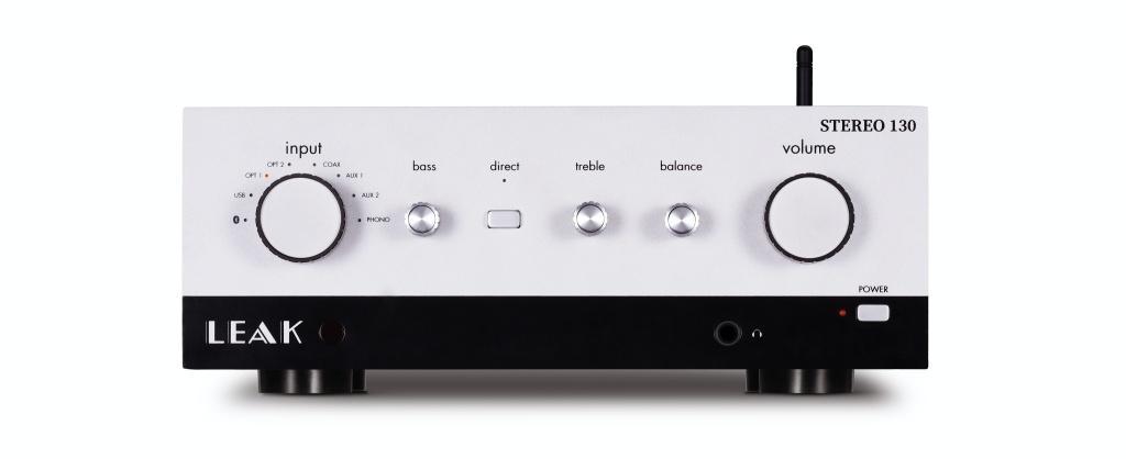 英國 LEAK STEREO 130 合供擴音機 + USB-DAC 及 CDT 純 CD 轉盤