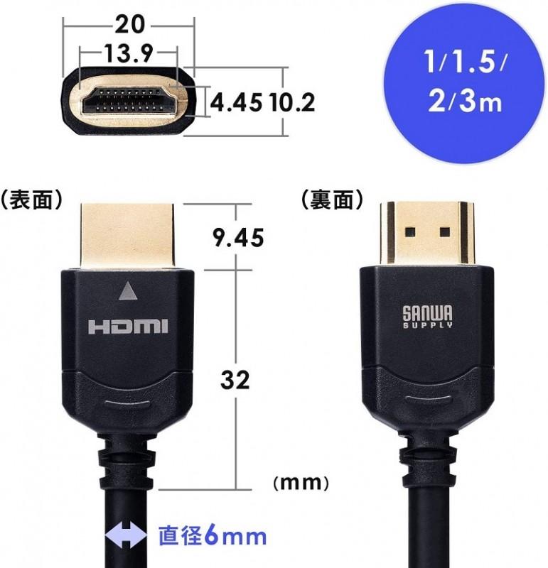 48Gbps 超高速認證,Sanwa Supply 推出 500-HD024 系列 HDMI 線材