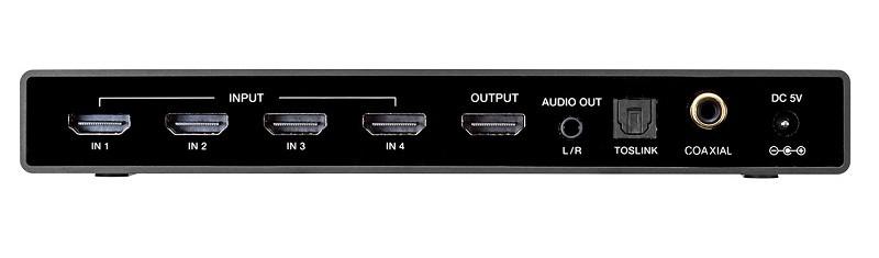 Sanwa Supply 推出全新四入一出 HDMI 選擇器 400-SW033