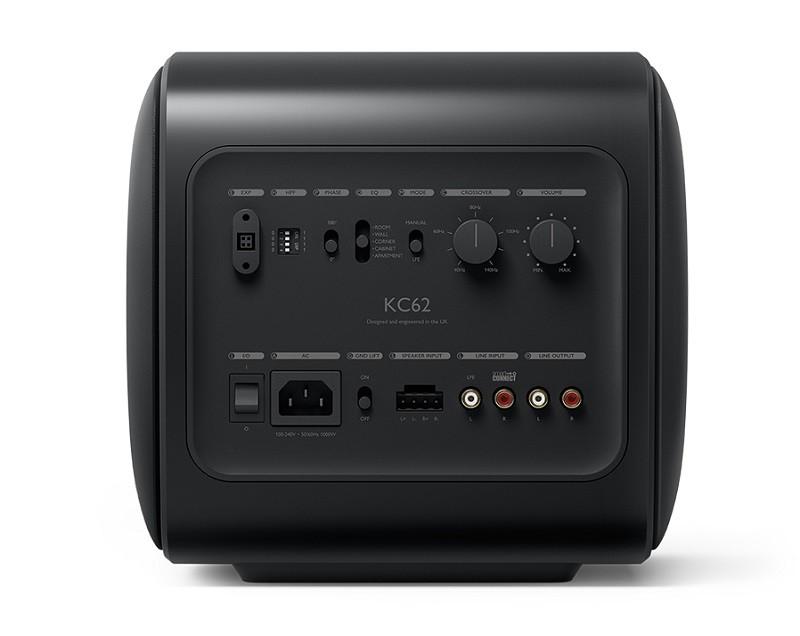顛覆傳統,KEF 發布首個採用 Uni-Core™ 技術的超低音喇叭 KC62