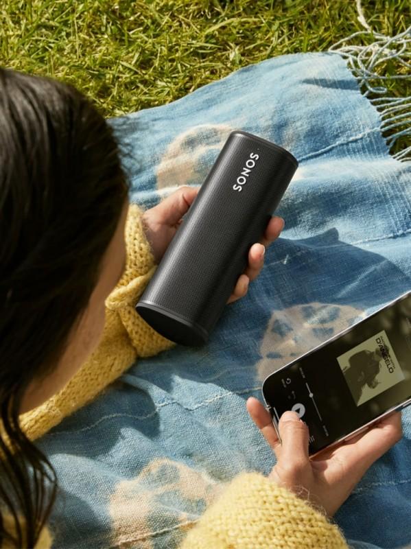 Sonos 推出全新便攜式智能喇叭 Roam