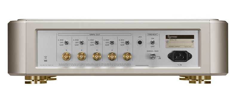 金光閃閃,Esoteric 推出限量特別版 Grandioso G1X Gold Edition 時鐘