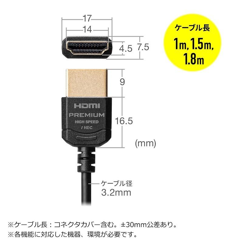 極幼線身,Sanwa Supply 推出全新兼容 4K / 60Hz HDMI 線材 500-HD026 系列